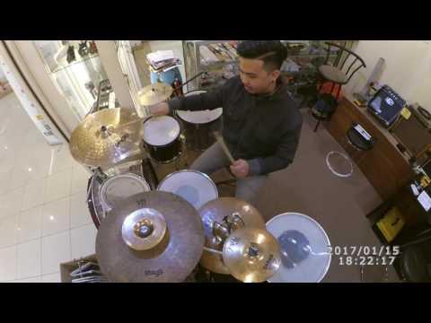 Rizky febian-Penantian berharga (drum cover)