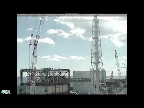 Clouds Disappear At Fukushima Daiichi Nuclear Power Plant 2-27-2017 | Organic Slant