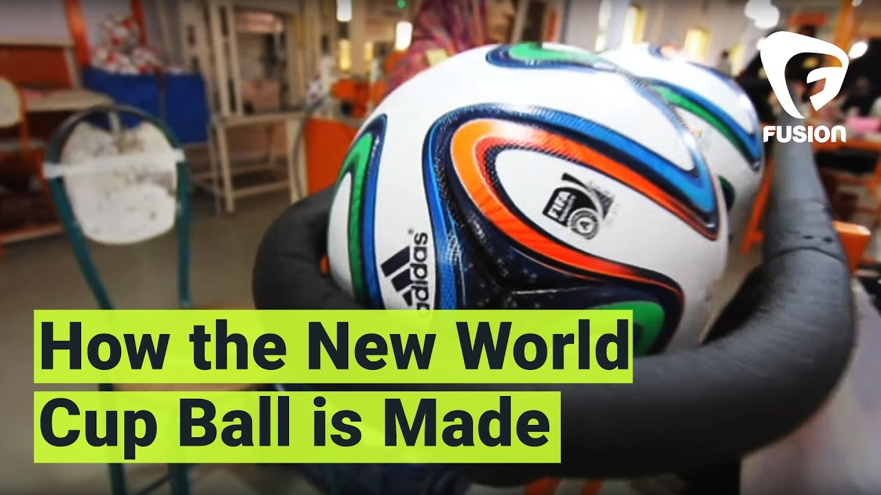 How The New World Cup Balls Are Made - YouTube