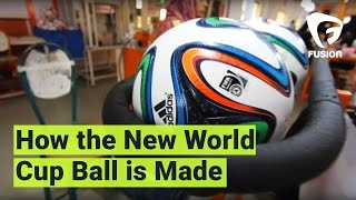 How The New World Cup Balls Are Made