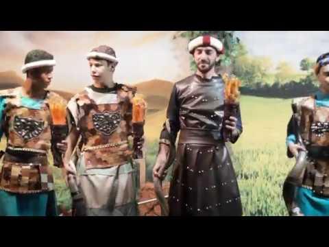 Teatro Lição 25 - Gideão e os 300 valentes - Deus de Gerações