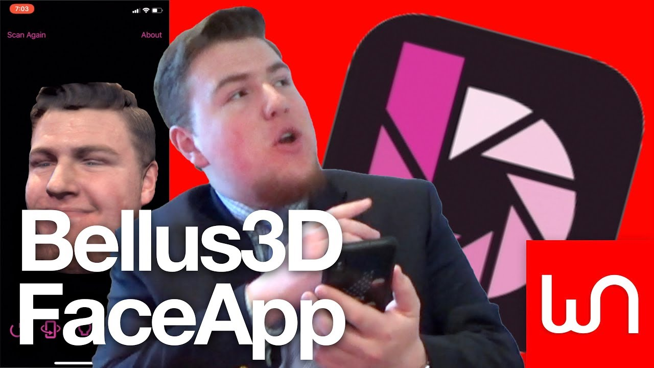 Bellus3D FaceApp For iPhone Hands-On