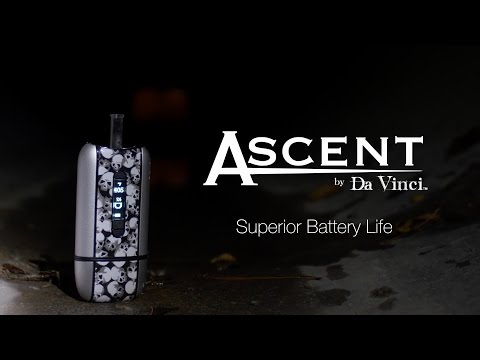 World's Longest Lasting Battery In A Vaporizer – The Ascent by DaVinci™