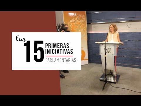 Las 15 primeras iniciativas del PSOE