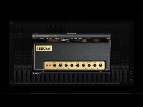 UAD Friedman Amplifiers by Brainworx Plug-In Collection Demo w/ Doug Doppler