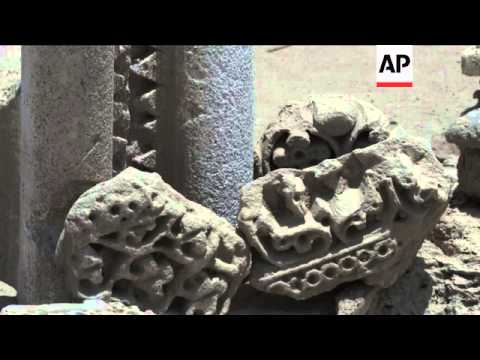 Iraqi archeologist claims to unearth ancient Christian ruins in holy Shiite Muslim city