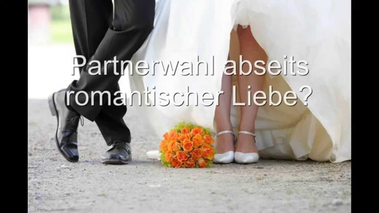 Partnerwahl abseits romantischer Liebe? - YouTube