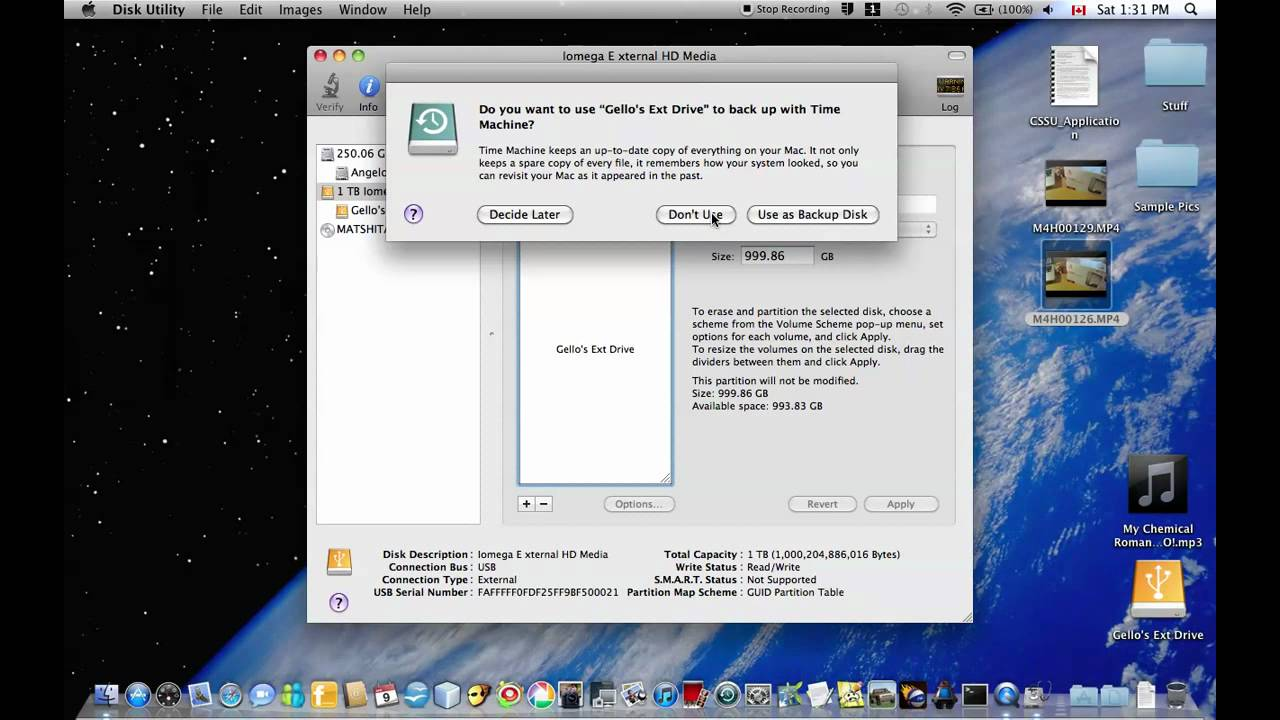 How to Format External Hard Drive for Mac OSX - YouTube