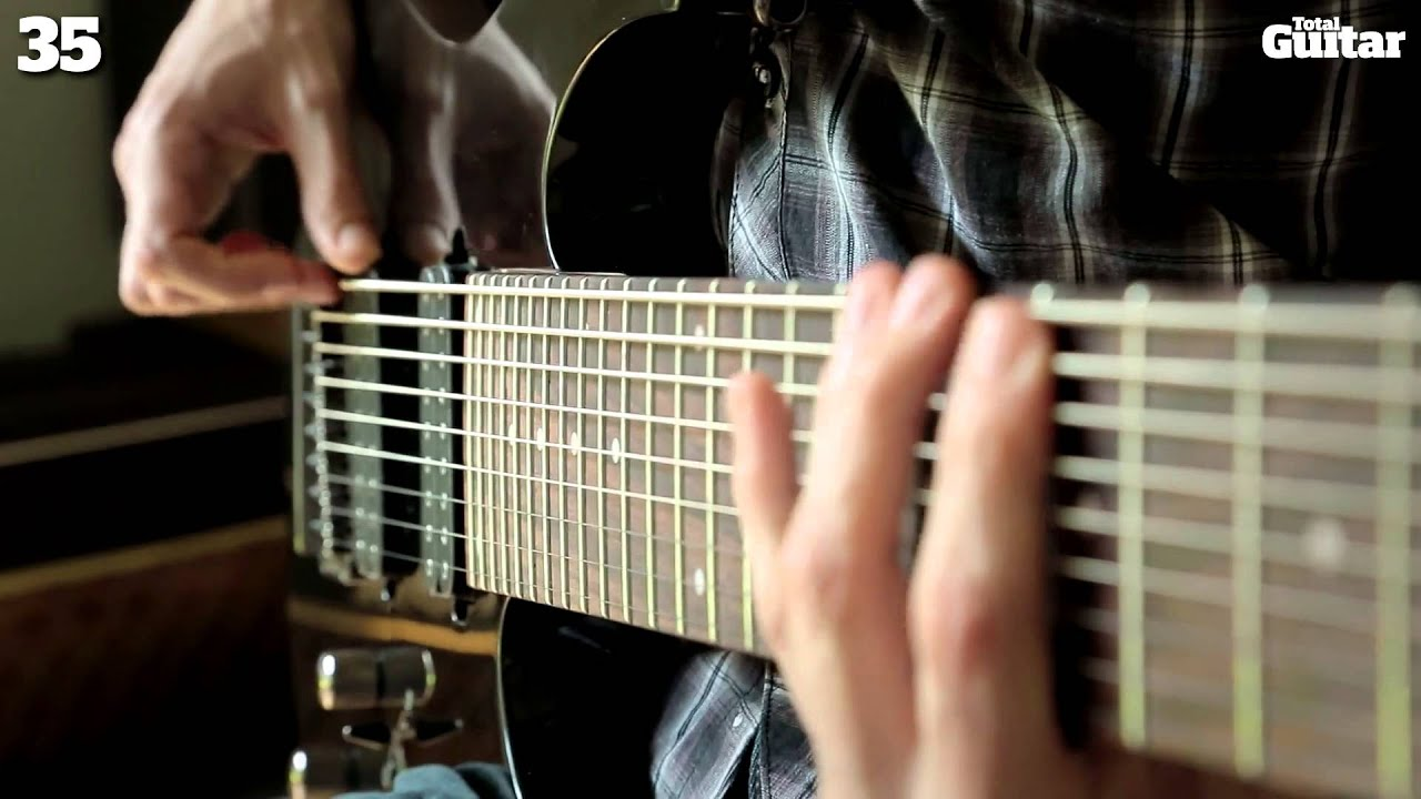 Ibanez RG9 nine-string 90 second demo review - YouTube
