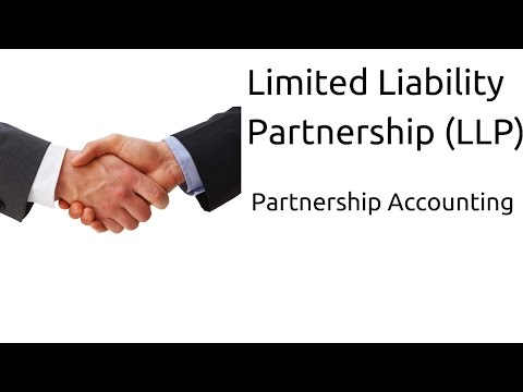 What is Limited Liability Partnership (LLP) | Profit & Loss Appropriation | CA CPT | CS & CMA
