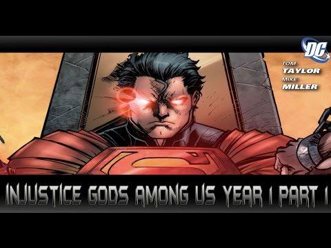 เทพเจ้าท่ามกลางพวกเรา[Injustice Gods Among Us Year1 Part1]comic world daily