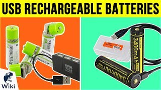 8 Best USB Rechargeable Batteries 2019