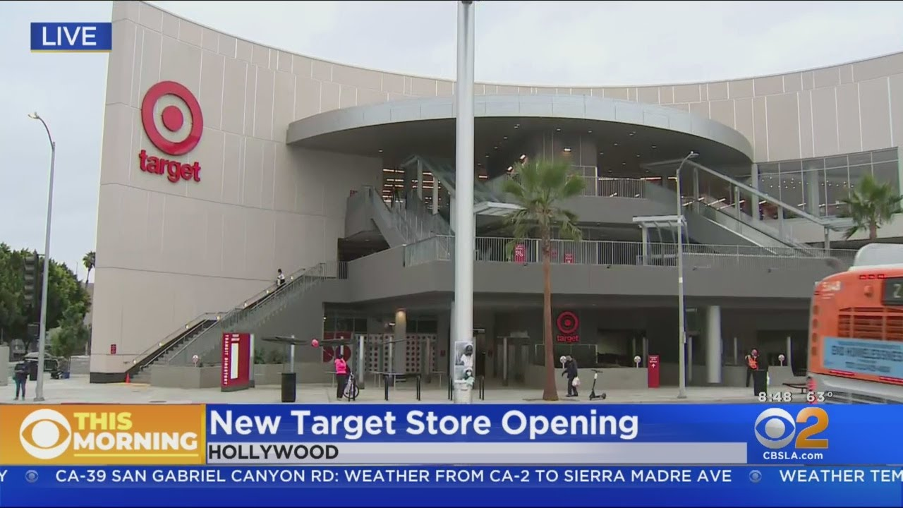 It Took 12 Years To Complete New Target Store Opening In Hollywood Sunday
