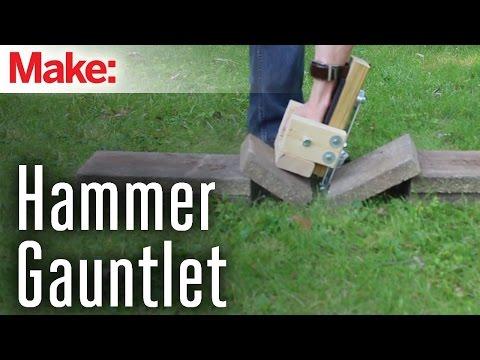 DIY Hacks and How Tos   Brick Punching Gauntlets