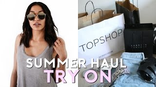 HUGE SUMMER HAUL 2016 | Urban Outfitters, Brandy Melville, Topshop + More!