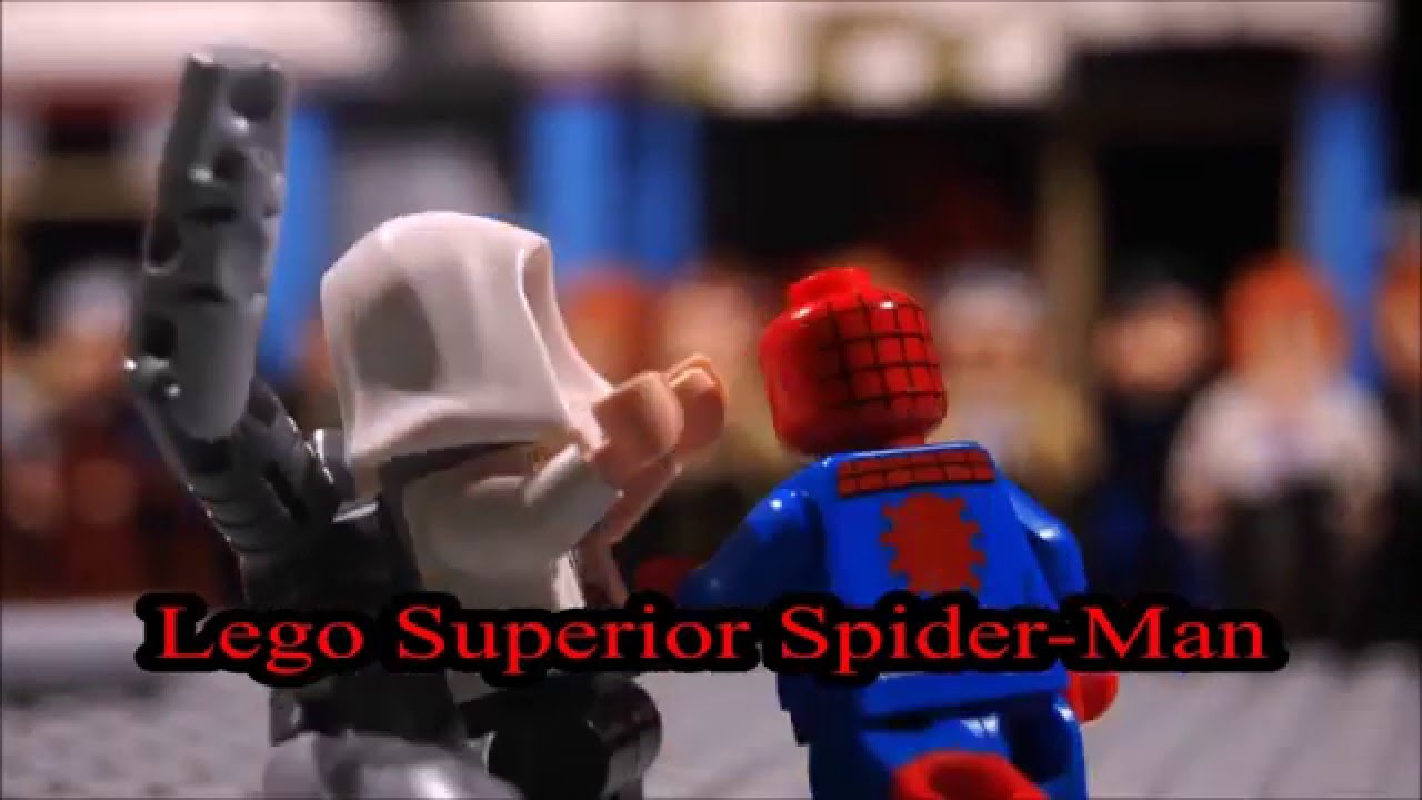 Aninimal Book: Lego Superior Spider Man teaser - YouTube