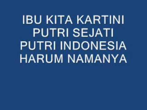 Ibu Kita Kartini (no Vokal)