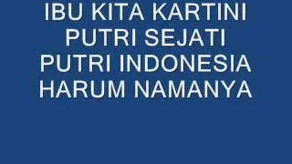Download Mp3 Ibu Kita Kartini  No Vokal
