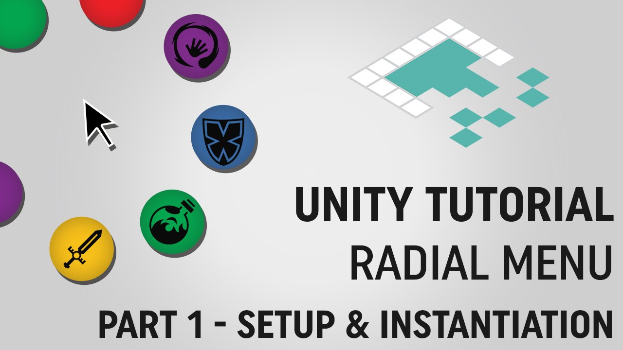 Unity Tutorial: Radial Menu (Part 1) from Board to Bits