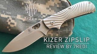 Kizer Zipslip Review - Stylish Modern Slipjoint Folder!
