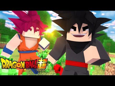 Minecraft: DIÁRIO DE UM SAIYAJIN #24 - SSJ GOD VS GOKU BLACK !! (Dragon Ball Super)