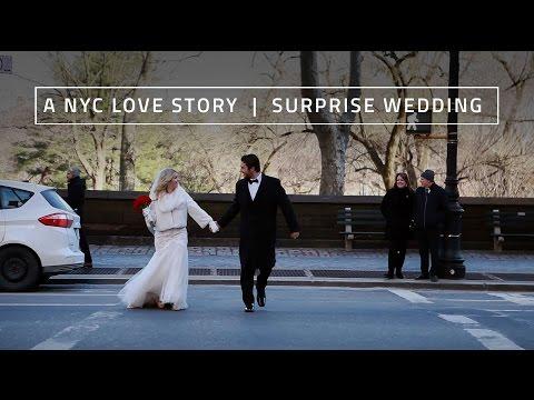 A New York City Love Story | Surprise Wedding