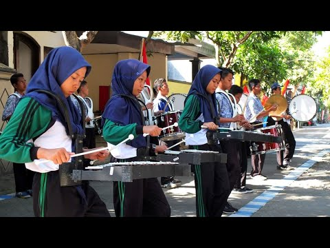 🔴 Drumband Sik Asik / Syik Asyik - SMPN Roked