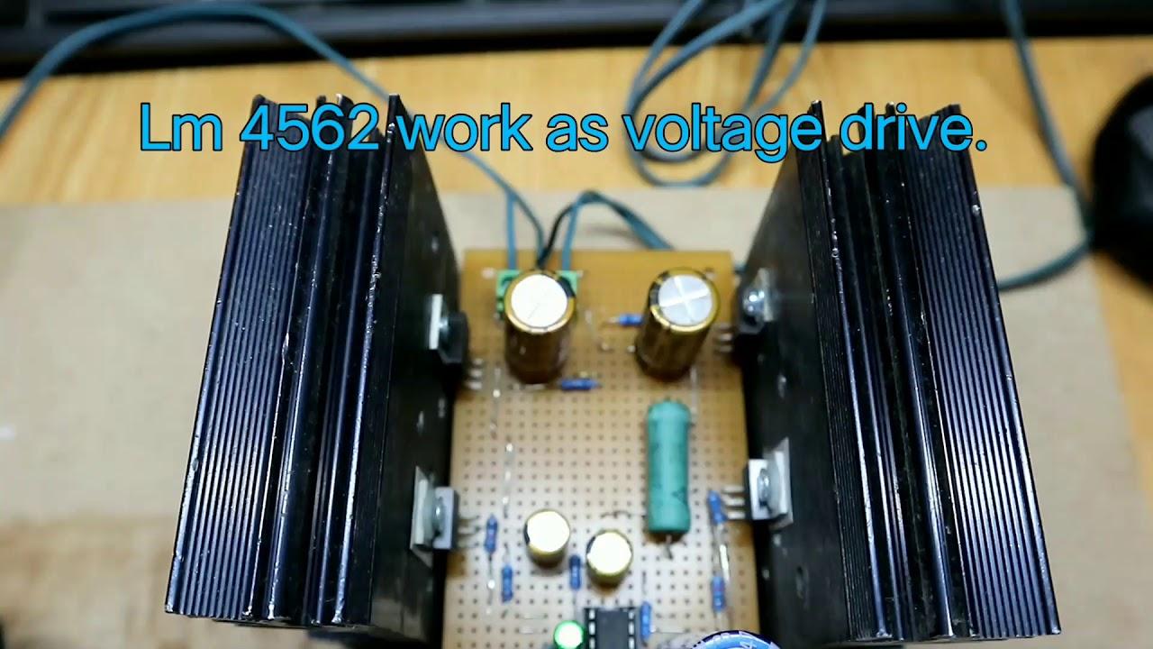 simple class a audio amplifier circuit diagram  [ 1280 x 720 Pixel ]