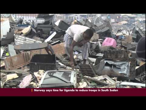 Ghana's E-dump: Enviromentalists worried about electronic waste dumping in the capital, Accra