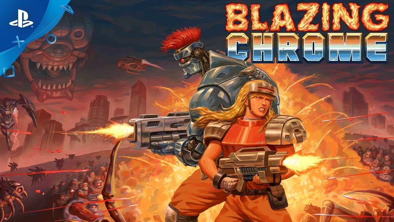 Blazing Chrome - Release Trailer | PS4