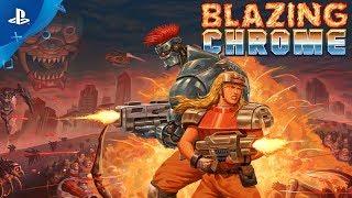 Blazing Chrome - Release Trailer   PS4