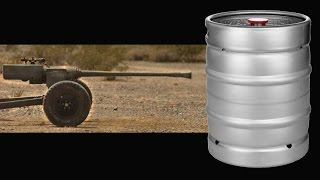 40mm Anti Aircraft Gun vs Keg