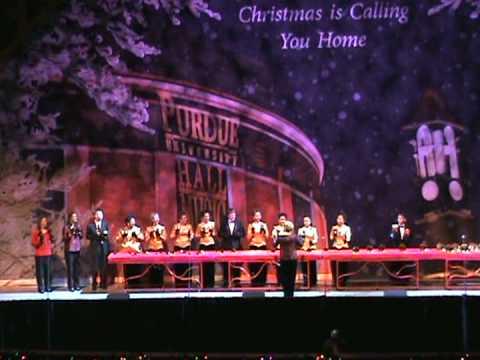 purdue christmas show 2008 jingle bells