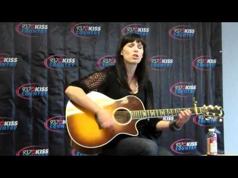 "Marlee Scott performs ""Beautiful Maybe"" for 93.7 Kiss Country"