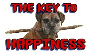 The key to happiness?  You decide.