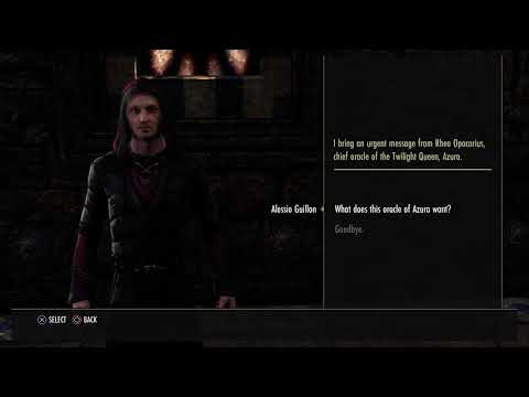 The Elder Scrolls Online - Innocent Squandrel: Meet Jakarn Dialogue Tree, Talk to Irien (2015)