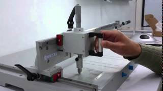 KGC4737 Wafer and Glass Cutter Operation