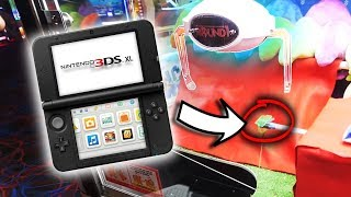I WON A NINTENDO 3DS FROM THE ROUND 1 ARCADE!!! || Arcade Games! thumbnail