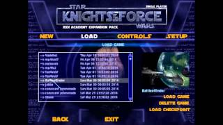 Let's Play Star Wars: Knights of the Force