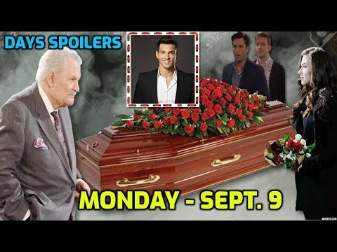 Days Daily Spoilers | Monday, September 9th | Days Of Our Lives Spoilers | 9/9/2019