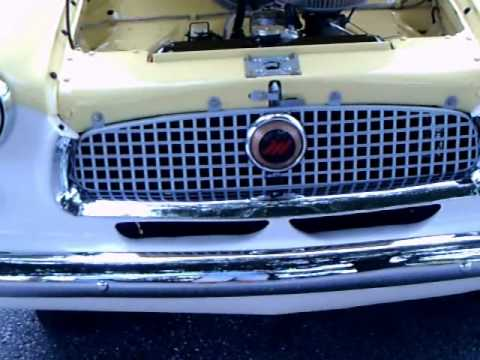 Late 50's Nash Metropolitan convertible