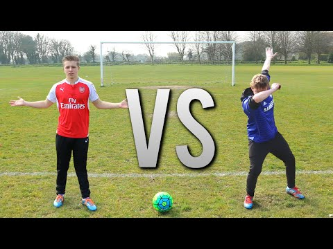 JERSEY VS GUERNSEY | FOOTBALL CHALLENGES ft. WROETOSHAW