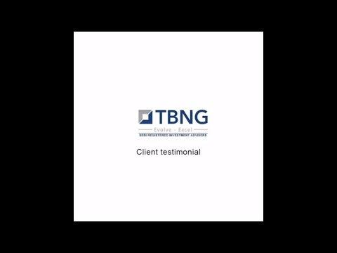 TBNG Capital Advisors Pvt Ltd - Client Testimonial - Mr  Ajoy S  Chomaal