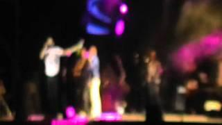 Concierto De Andy & Lucas en Archidona - Faldas 14/08/11