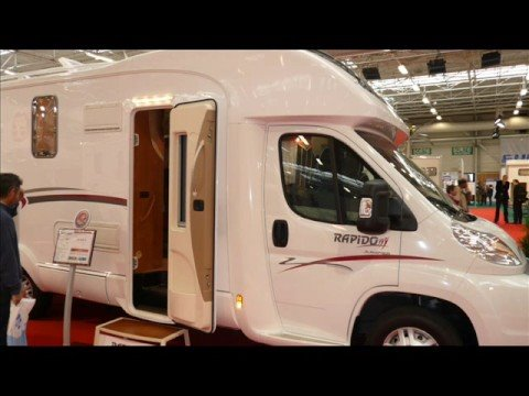 salon du camping car 2008 paris le bourget youtube. Black Bedroom Furniture Sets. Home Design Ideas
