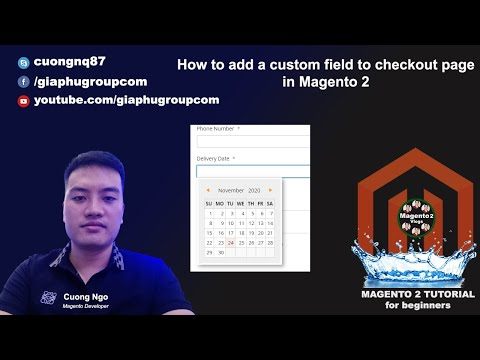 How to add a custom field to checkout page in Magento 2