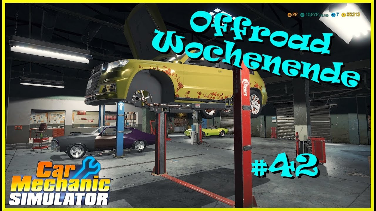 Let´s Play Car Mechanic Simulator | Autowerkstatt Simulator #42 PS4 deutsch