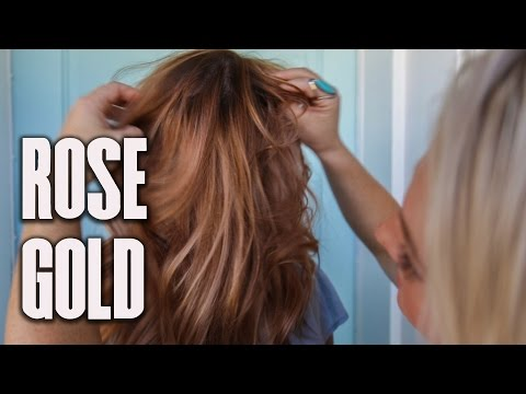 HOW TO GET ROSE GOLD | TUESDAY TUTORIAL |