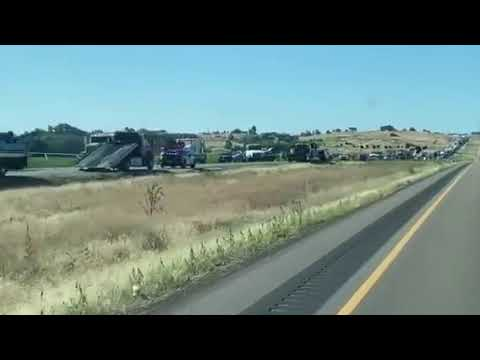 Severe crash on I-84 west of Caldwell