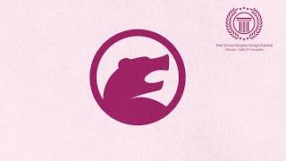 Animal logo design tutorial for beginners - how to make bear logo in adobe illustrator
